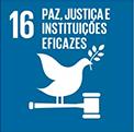 Paz, justiça e instituições fortes